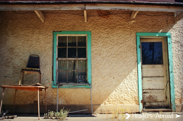 An abandoned gas station along Hwy 72 in New Mexico. One of Ryan's favorite drives.