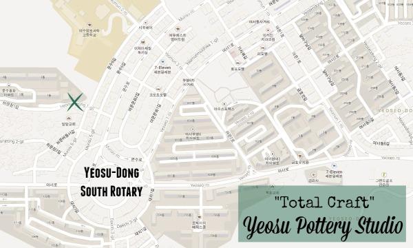 Pottery Studio Map