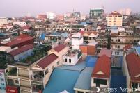 Overlooking Phnom Penh